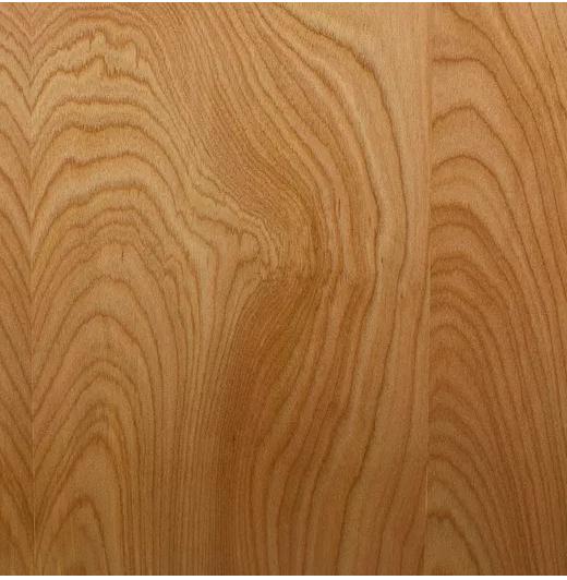 Naturally finished alder wood