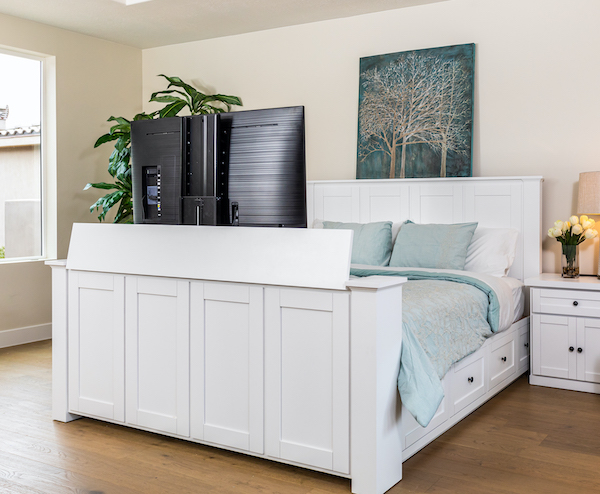 Hartford Tv Bed Most Popular With, Queen Size Tv Bed