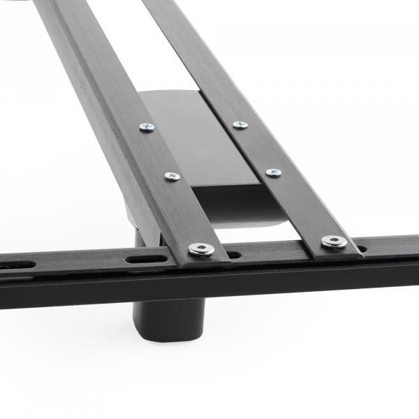 Basic bed frame center support